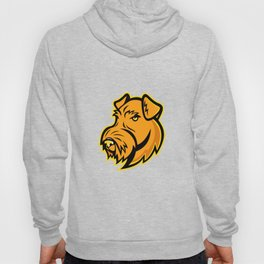 Airedale Terrier Dog Mascot Hoody