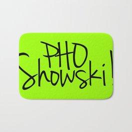 Pho Showski! Bath Mat