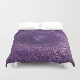 Purple Drop Duvet Cover