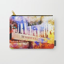 NYC Watercolor Collection - Winter Garden Carry-All Pouch