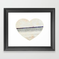 Summer Romance Framed Art Print