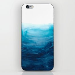 Dive into the deep blue sea iPhone Skin