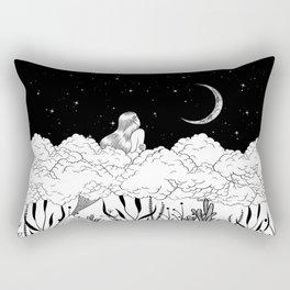 Moon River Rectangular Pillow