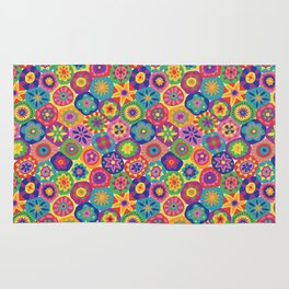 Millefiori-Crayon Colors Rug