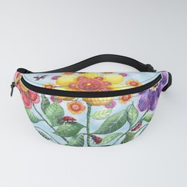 Ladybug Playground on a Summer Day Fanny Pack