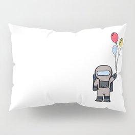 Cute Lil' Space Man - Illustration Pillow Sham