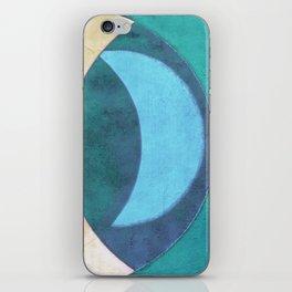 Waxing Crescent iPhone Skin