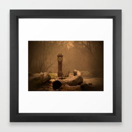 Time Waits for No One  Framed Art Print