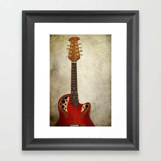 Mandolin Framed Art Print