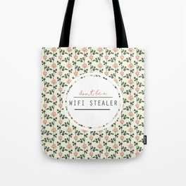 wifi stealer Tote Bag