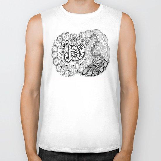Zentangle Life with Joy! Biker Tank