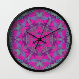 magic mandala 51 #mandala #magic #decor Wall Clock