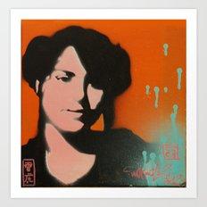 Orange Sugoi~ Art Print
