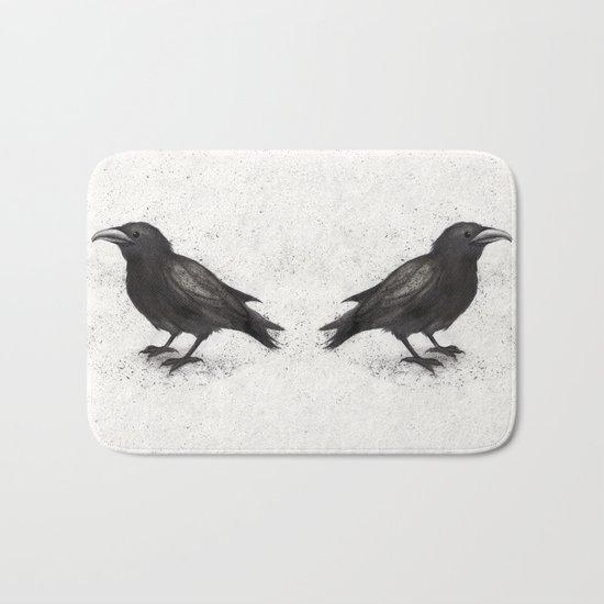 Crow Bath Mat