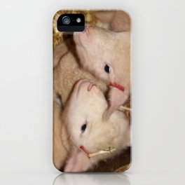 Lamb Twins  iPhone Case