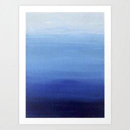 Blue Sky All Day Art Print