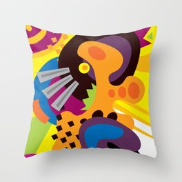 A Jazz Song Throw Pillow