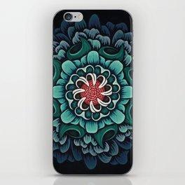 Abstract Floral Mandala iPhone Skin