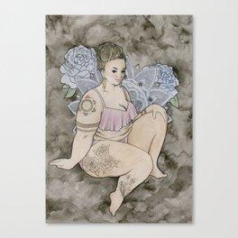 fat babe Canvas Print