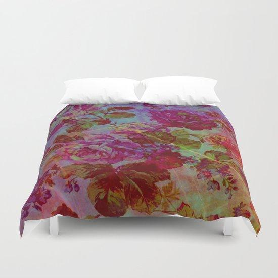 vintage floral Duvet Cover