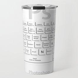 Photoshop Keyboard Shortcuts Tool Names Travel Mug