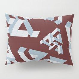 Six Part Pyramid Pillow Sham