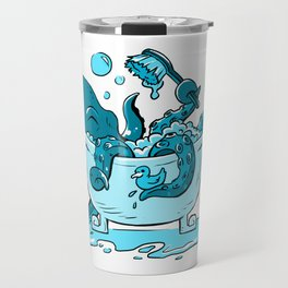 Octopus Bath Travel Mug