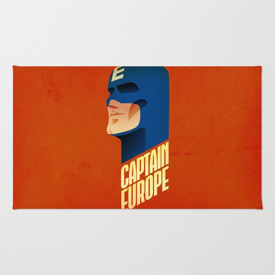 Captain Europe Rug