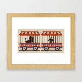 circus l.eye.on Framed Art Print
