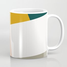 Abstract Geometric 27 Green Coffee Mug