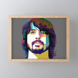 Dave Grrohl Framed Mini Art Print