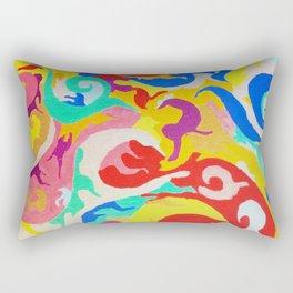 Filtered Swirl 1 Rectangular Pillow
