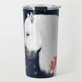 Christmas Horse Travel Mug