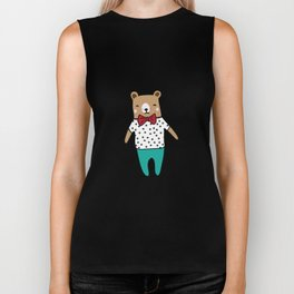 Cute little bear Biker Tank