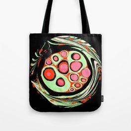 Psychedelic Circle Tote Bag