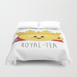 Royal-tea Duvet Cover