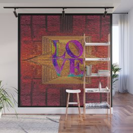 LOVE IN THE TIME OF ELEVATORS Wall Mural
