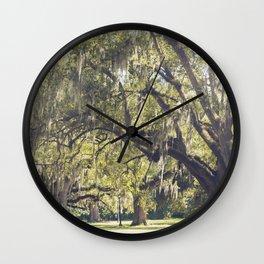 Audubon Park - New Orleans Wall Clock