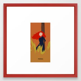TRAGIK END MERIDA Framed Art Print