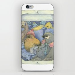 Flying Coach iPhone Skin