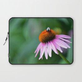 Bumble Bee in the Garden Laptop Sleeve