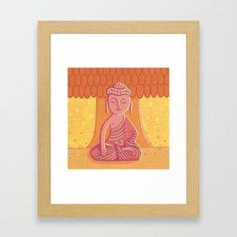 Buddha C Framed Art Print