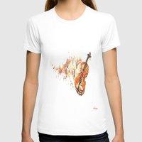 violin T-shirts featuring violin by arnedayan