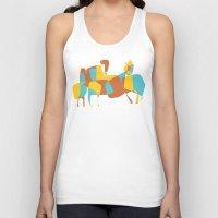horses Tank Tops featuring Horses by Pablo Correa