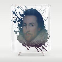 William Shakespeare - Splash Shower Curtain