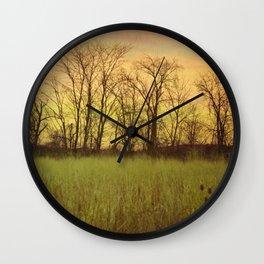 Morningtide - When Night is Left Behind Wall Clock