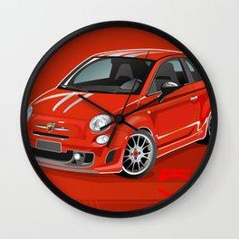 FIAT Abarth 500 Wall Clock