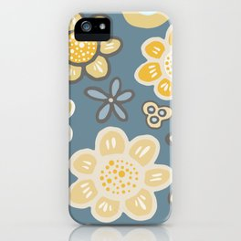 Big and Bold Modern Floral No. 2 iPhone Case