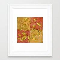 birch Framed Art Prints featuring Birch by Edith Jackson-Designs