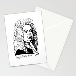 George Frideric Handel Stationery Cards
